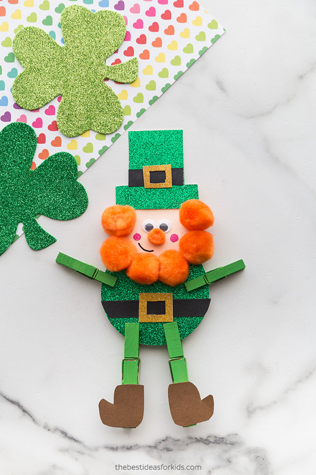 Leprechaun St Patrick's Day Craft