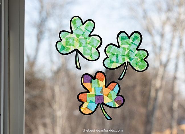 Shamrock St Patrick's Day Craft