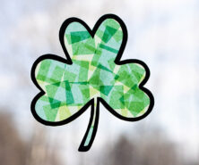 Shamrock Suncatcher Craft
