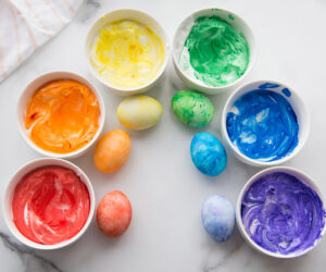 Cool Whip Easter Eggs