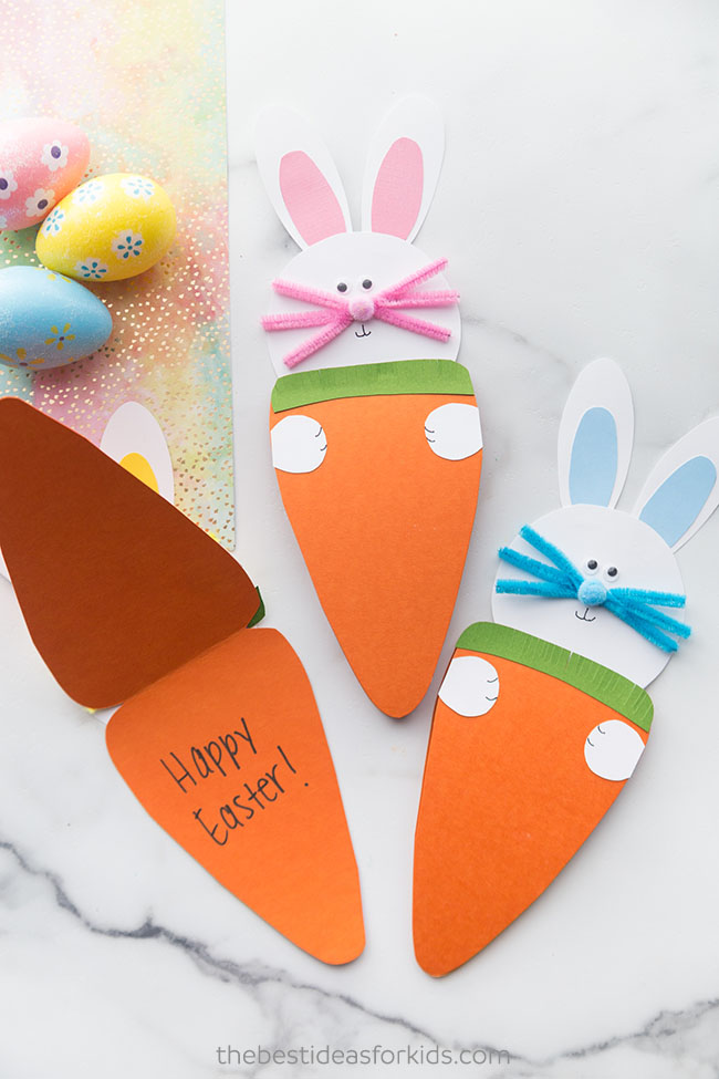 Easter Carrot Card