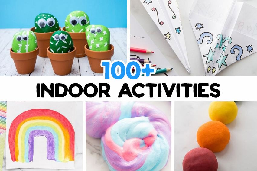 100 Indoor Activities For Kids With Free Printable The Best