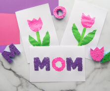 Mother's Day Sponge Painting Cover