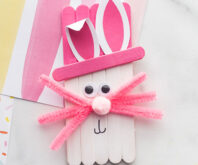 Popsicle Stick Easter Craft
