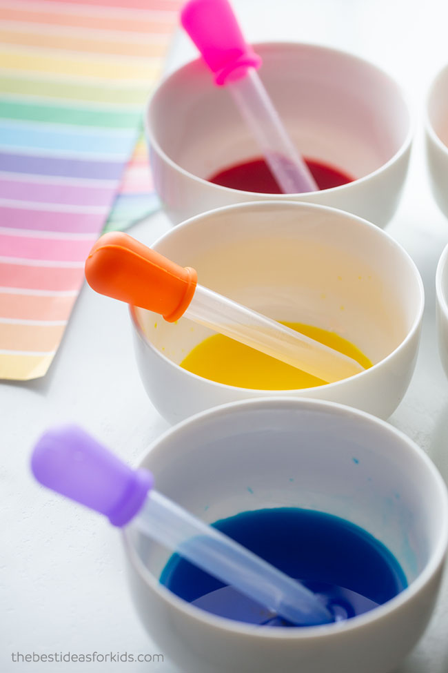 Food Coloring for Experiment