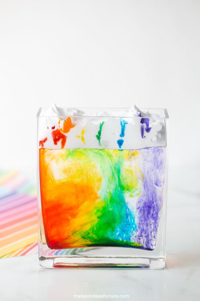 Rainbow Cloud in a Jar