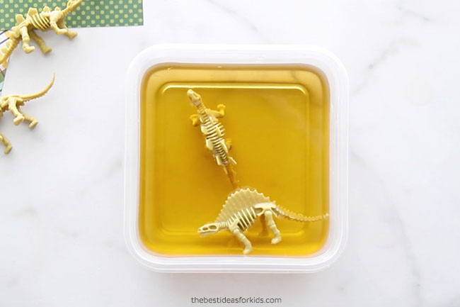 Add Dinosaur Toys to Containers