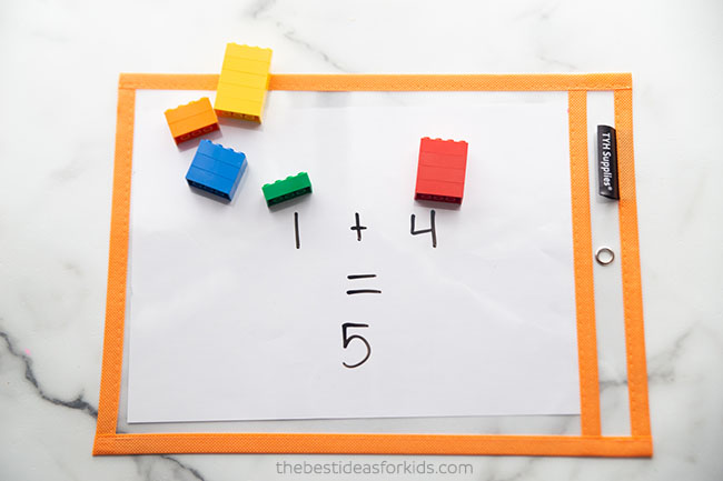 Lego Math Activity Idea
