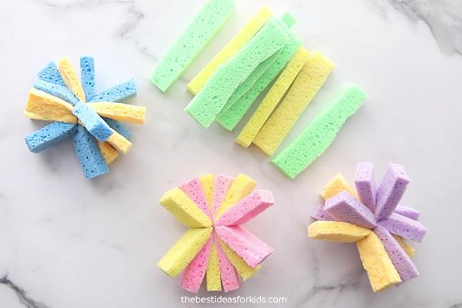 Make your own sponge balls
