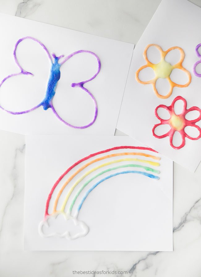 Spring Salt Painting The Best Ideas For Kids,Bedroom Ceiling Fans With Lights