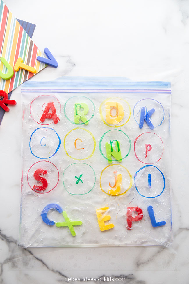 Alphabet Letter Bag