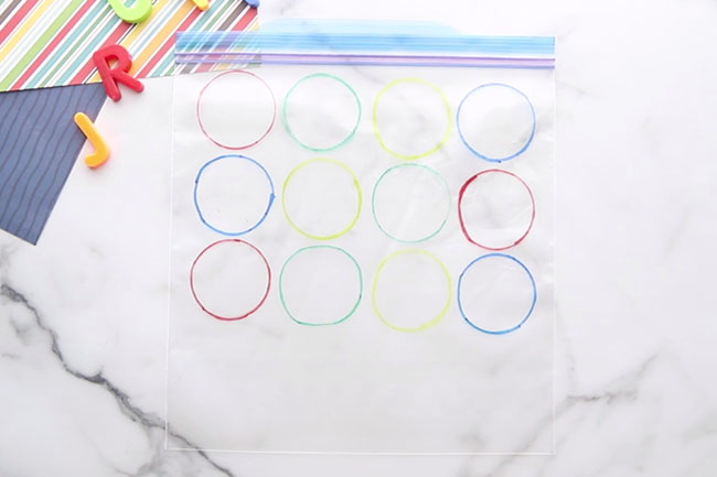 Make Circles on Bag
