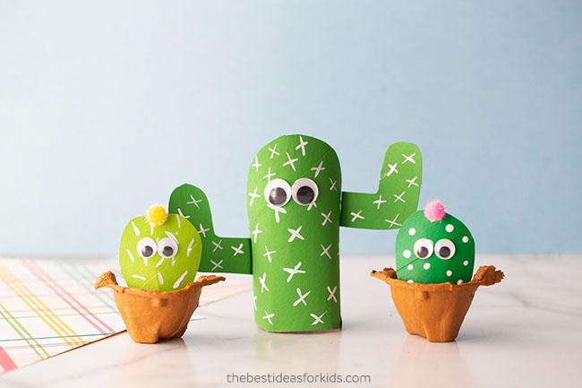 Paper Roll Cactus