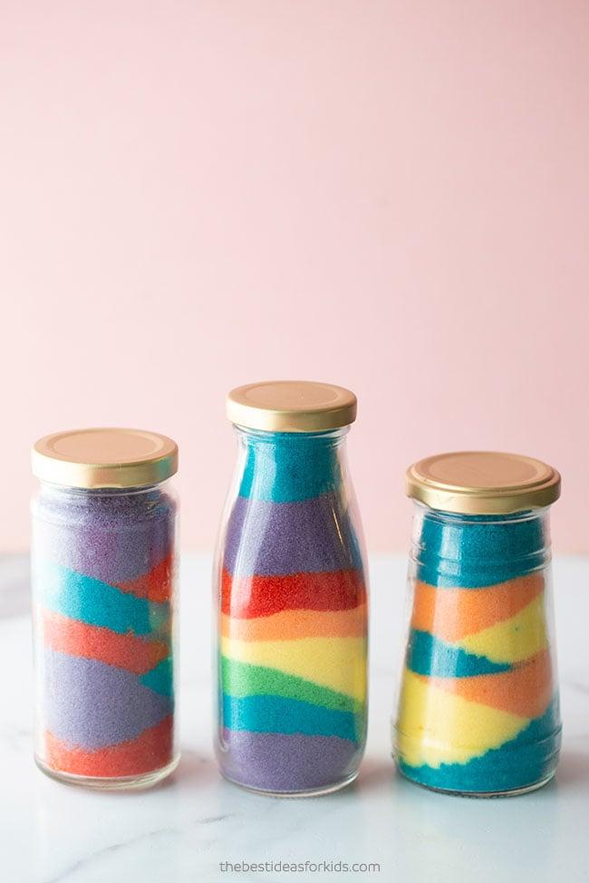 Rainbow Colored Salt