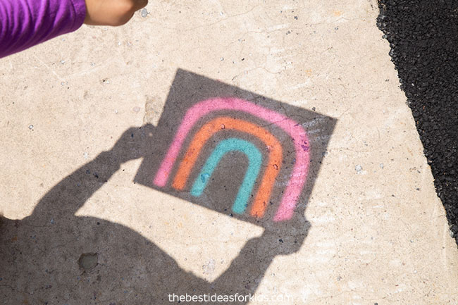 Rainbow Shadow Art