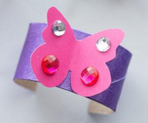 Toilet Paper Roll Bracelets