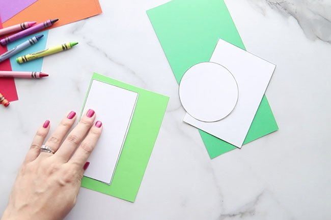 Use Template to Trace Paper