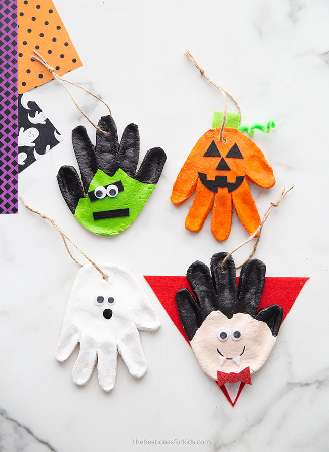 Halloween Salt Dough Recipe