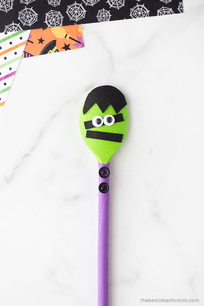 Wooden Spoon Frankenstein