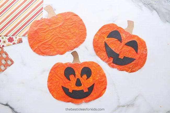 Add Pumpkin Faces