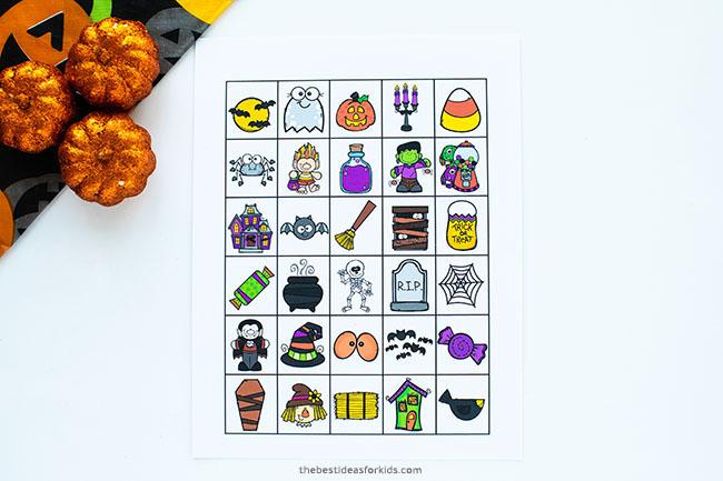 Printable Bingo Calling Card