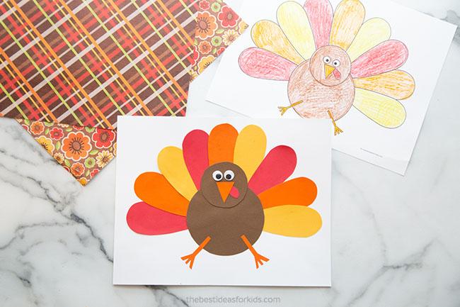 Printable Turkey Template