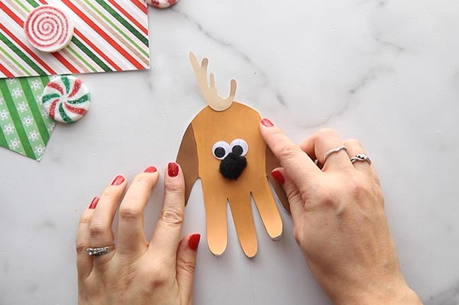 Add Antlers to Max Handprint