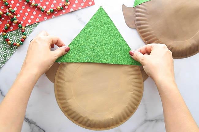 Elf Paper Plate Hat