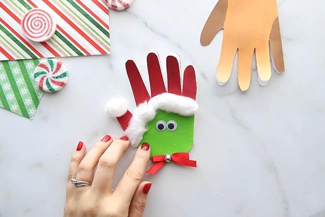 Glue on Googly Eyes for Grinch