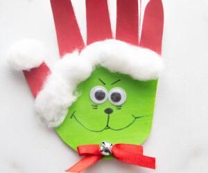 Grinch Handprint