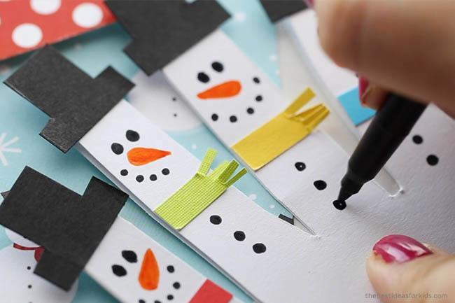 Add Buttons to Snowmen