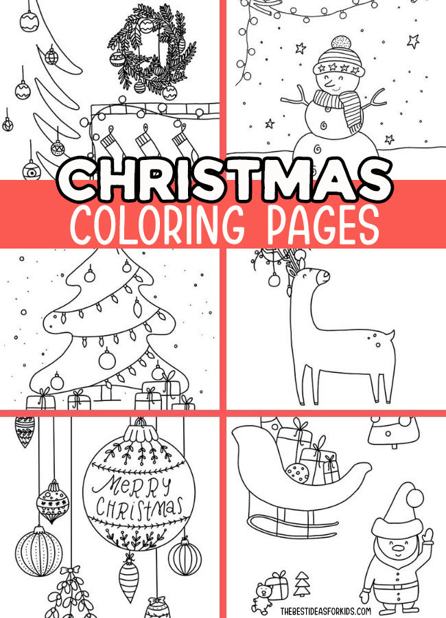 Christmas Coloring Pages - The Best Ideas For Kids