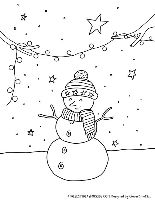 - Christmas Coloring Pages - The Best Ideas For Kids