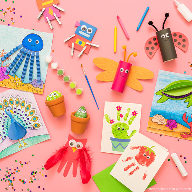 Easy Craft Kits for Kids