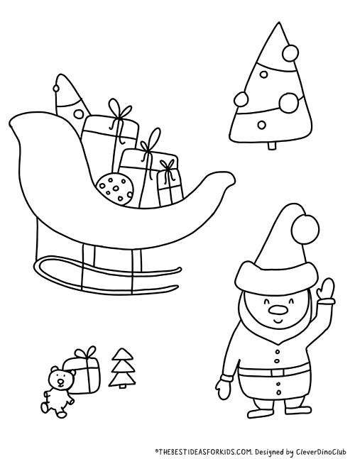 Christmas Coloring Pages The Best Ideas For Kids