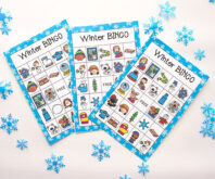 Free Printable Winter Bingo
