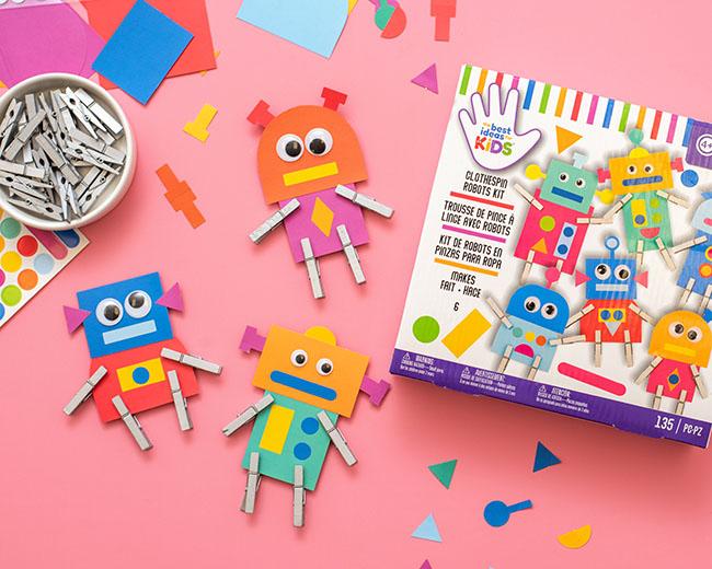 Robot Craft Kit for Kids
