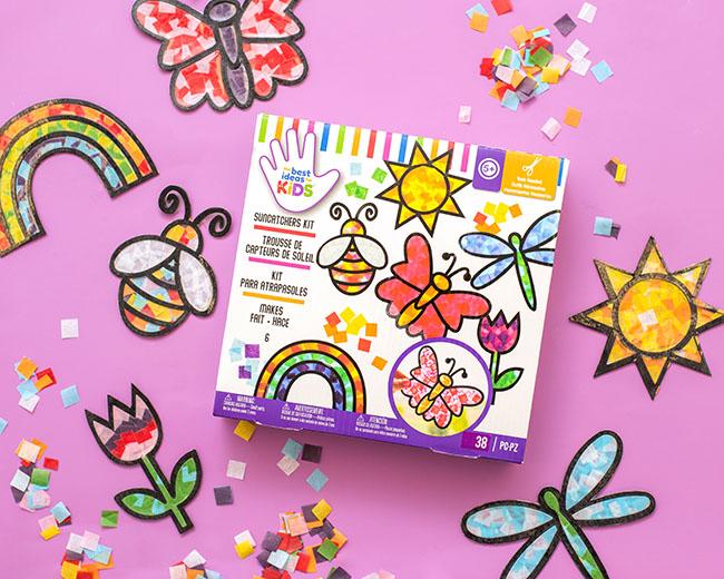 Suncatcher Kit for Kids