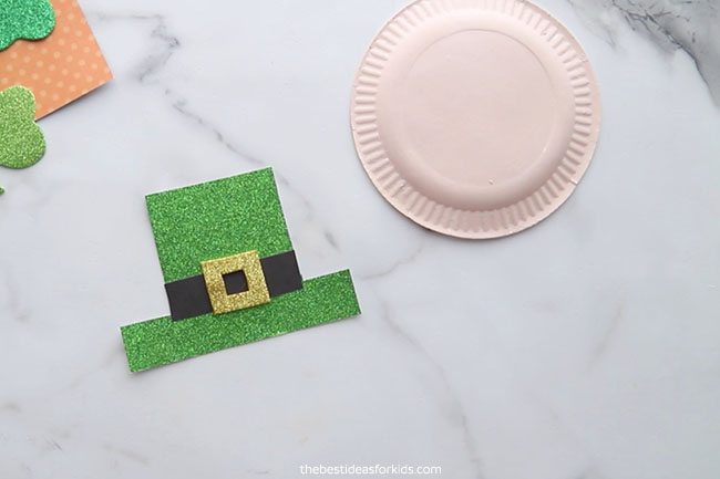 Add Gold Buckle to Hat