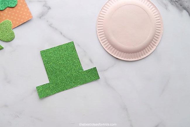 Cut out Leprechaun Hat