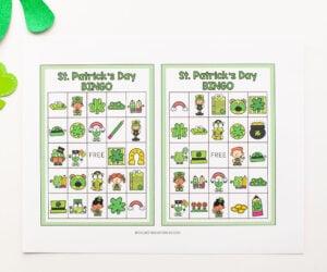 St Patrick's Day Bingo Printable Cover