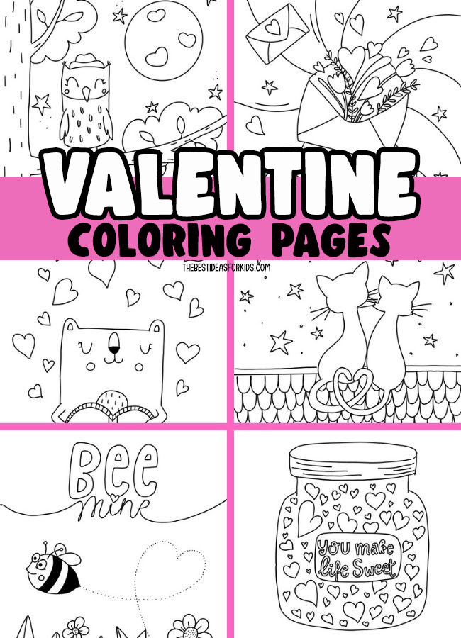Valentine S Day Coloring Pages The Best Ideas For Kids