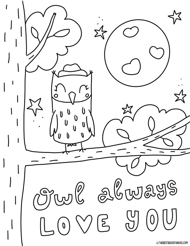 Valentine's Day Coloring Pages - The Best Ideas For Kids